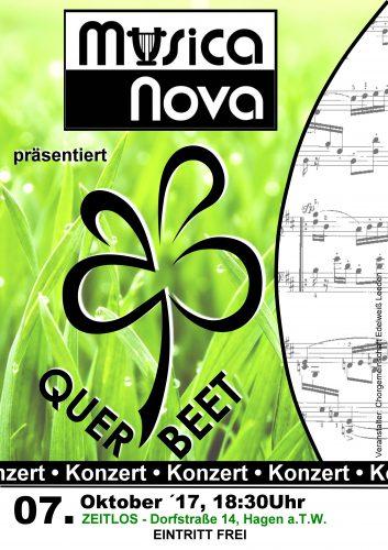 Querbeet - Plakat